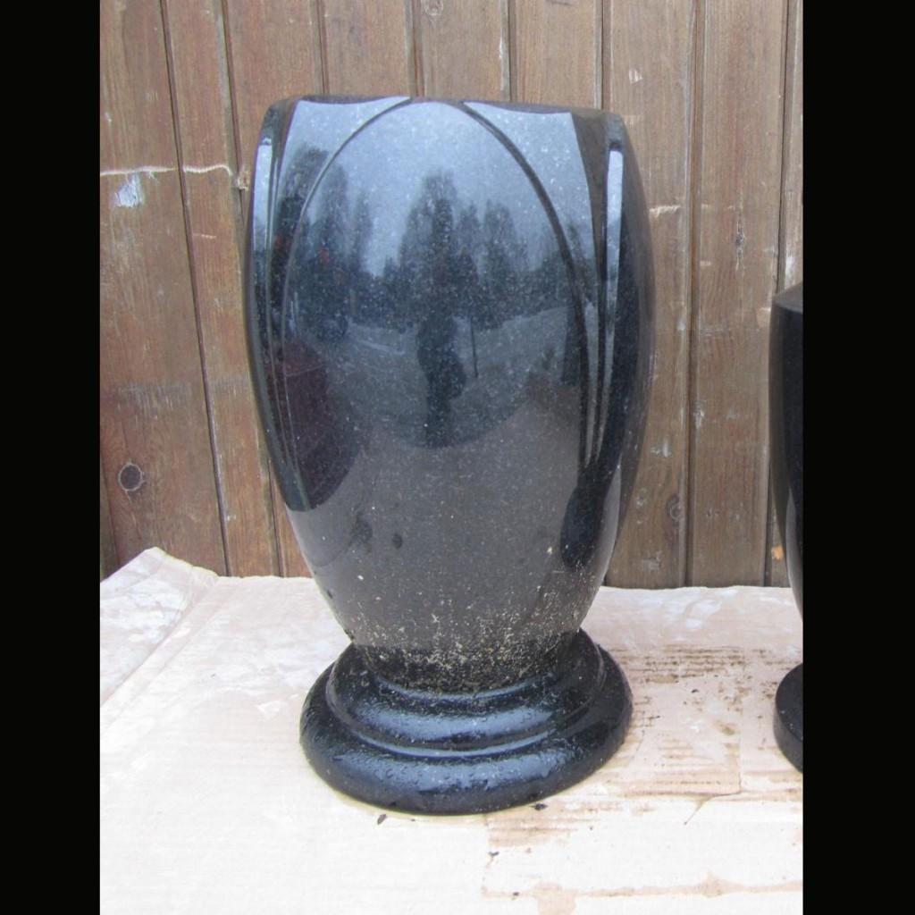 Grave Accessories Granite Eternity Lights Flower Vases