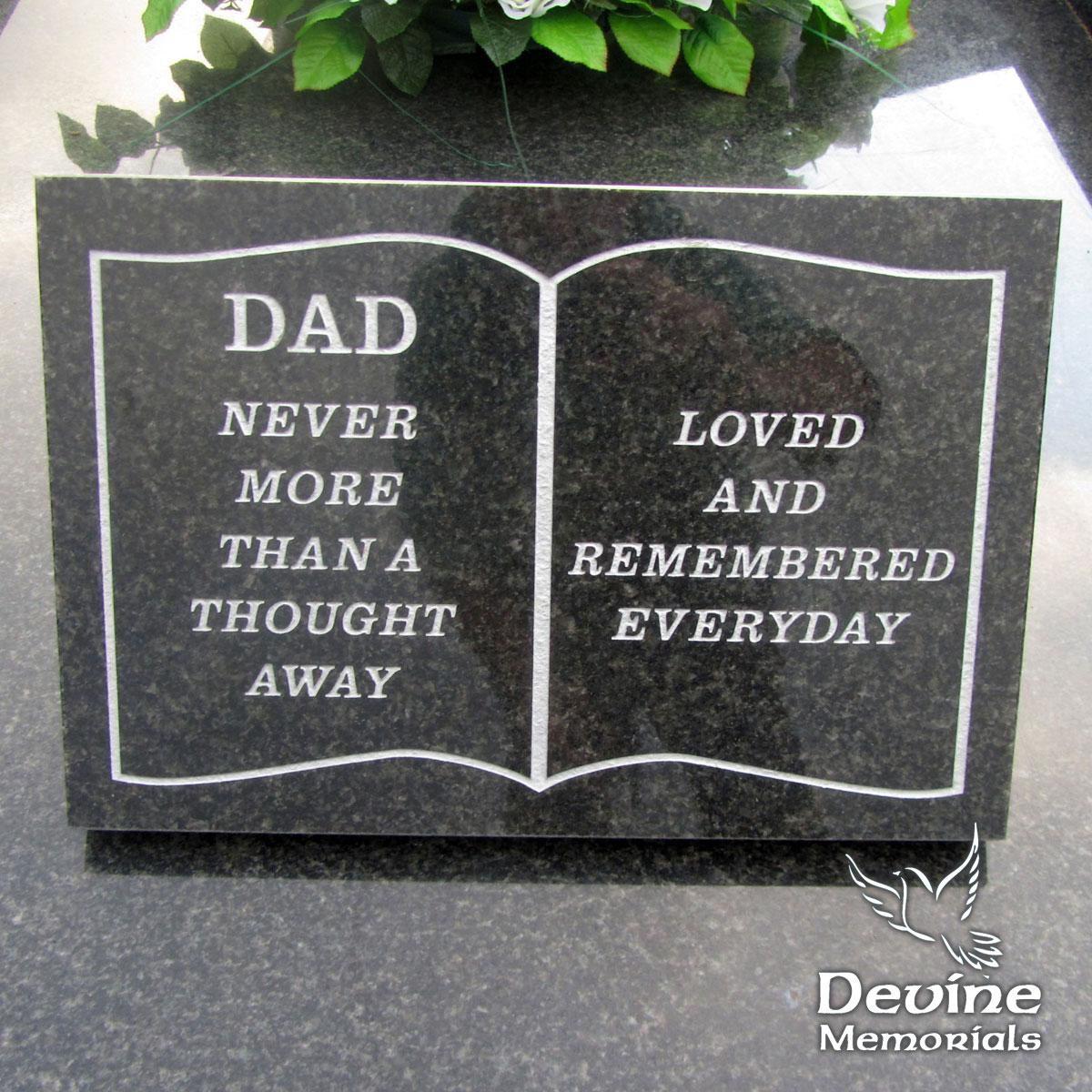 Flat Plaques Grave Accessories Ireland
