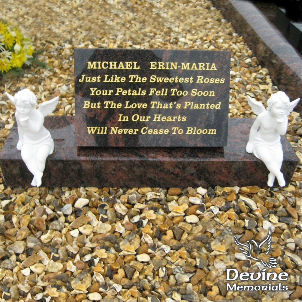 Sitting Angels Plaque